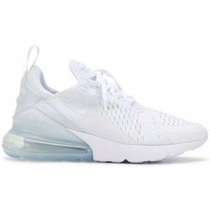 Nike Air Max 270 Triple White Womens | AH6789 102